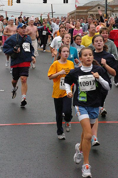 Manchester Road Race 2009